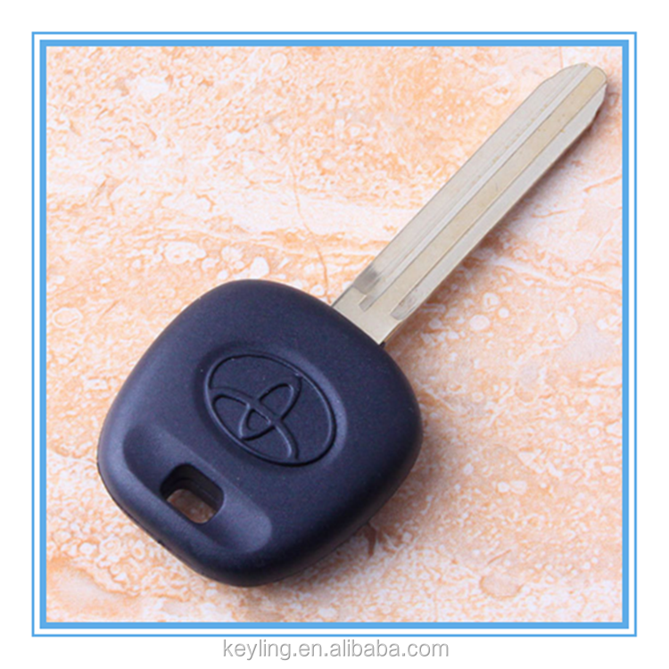 HOT sale 2017 excellent quality black car keys toyota 4d 60 transponder key