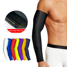 China Wholesale Elastic Elbow Pads Protector Baseball Sport Arm Sleeves