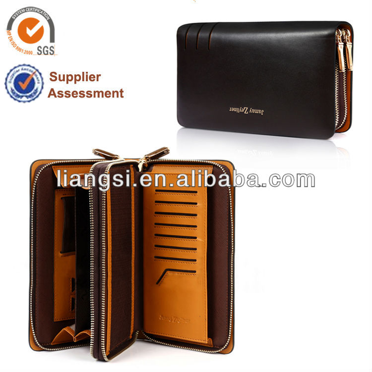 Mens American style wallet with credit card holding