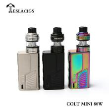 Newest Ecigarette product Teslacigs colt mini 80W with H8 miniatomizer vape cigar from factory