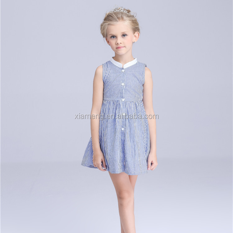 2016 hot sale new arrival fashion cotton custom fashion 12 year girl without dress