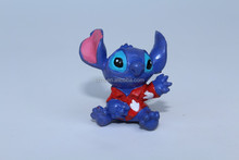 small stitch action figure/custom pvc plastic resin figure design/Multi colored pokemon