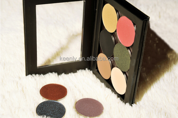 Handmade magnetic makeup compacts palette cosmetics make up palette