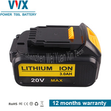 Dewalt 20V Premium XR Li-Ion Battery for Dewalt DCB181 DCB183 DCB184 Replacement for 18V Cordless Drills