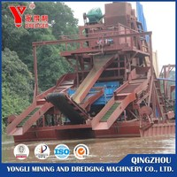 Low Price Sand Bucket Chain Dredgers for Sale