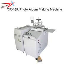 Semi-automatic DIY Photo Album Making Machine