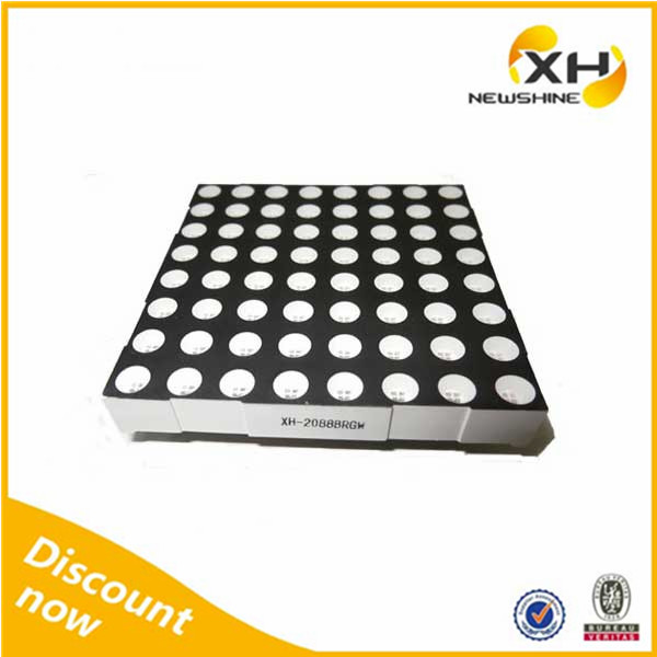 Free Sample Indoor Outdoor using High Brightness rgb led dot matrix