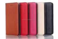 IMPRUE Genuine Leather Wallet Case For iPhone6(4.7) With Credit Holder 5 Colors