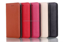 IMPRUE Genuine Leather Wallet Case Cho iPhone6 (4.7) Với Tín Dụng 5 Colors Chủ