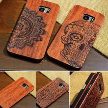 2018 custom blank with TPU/PC wood phone case for Samsung galaxy s6 s7 s8 s9 plus