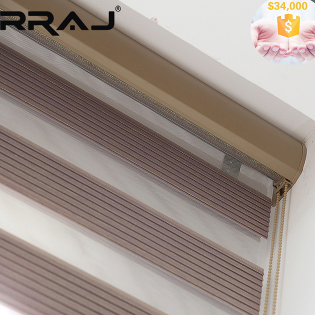 RRAJ Fancy Decorative Window Coverings with Remote Control System