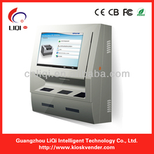 Self service mobile charge/top up/ card despenser vending machine/ kiosk