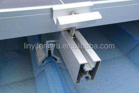 aluminium profiles for solar panel systems price in China manufacturer