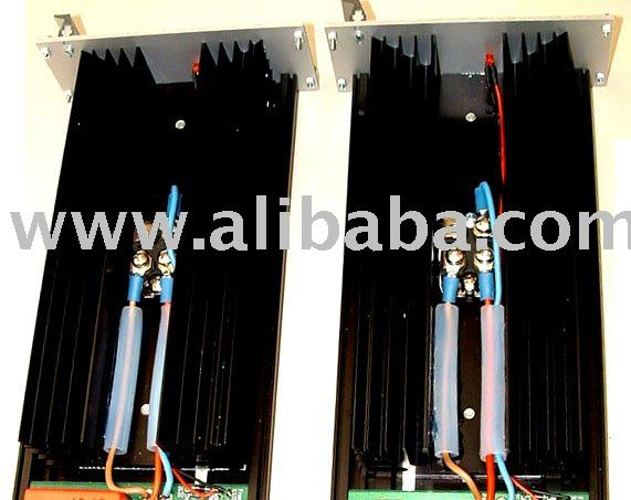 Twin AC/AC, AC/DC frequency shift converter equipment