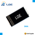 P4SMA6.8CA 400W SMD Bidirectional TVS Diode For Charger