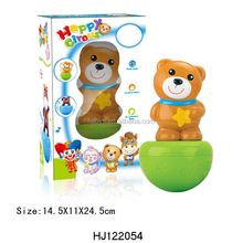 Baby Roly-poly Toy Plastic Animals Toys Tumbler HJ122054