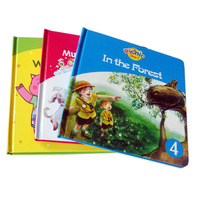 China cheap glossy lamination art paper hardcover children book/ board book printing