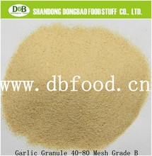 direct manufacturer dehydrated Garlic Granules 40/60 mesh