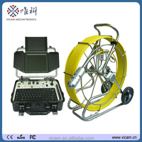 Under water well omni detection cctv camera underground drainage pipeline inspection video camera V8-3288PT-1