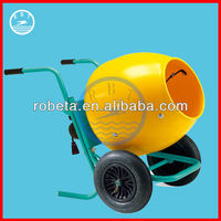 Manual Moving Concret Mixing Machine /Mini Electric Concrete Mixer on sale