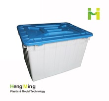 Custom plastic storage box for clothes