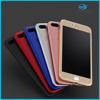 Factory manufacturing 360 degree full cover pc case for iPhone7/iPhone7plus phone case printing service
