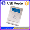 HSY-U181W Power on USB cable Desktop simple driver USB emv smart card reader and writer