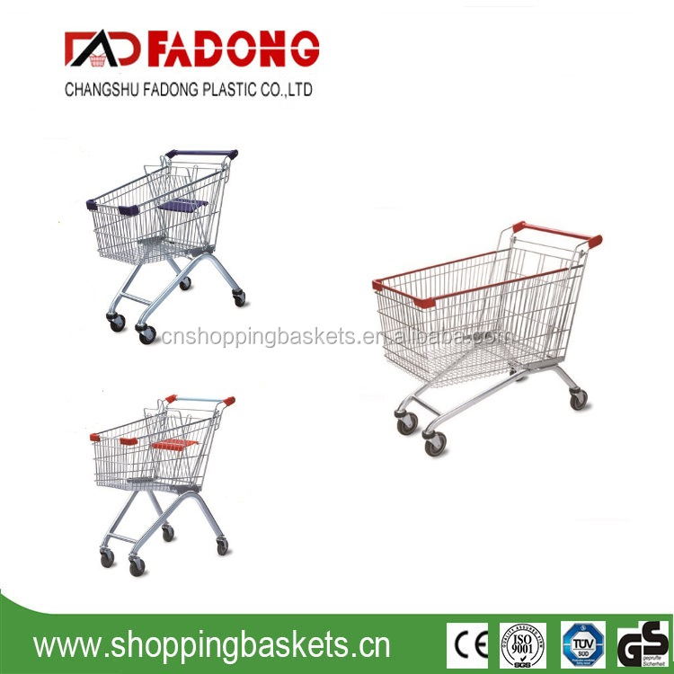 European style shopping cart,shopping trolley