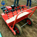 low price gasoline engine driven planting machine for garlic