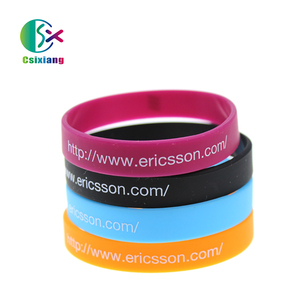 Personalized Design Best Selling Printing Silicone Wristband Bracelet With Your Own Logo