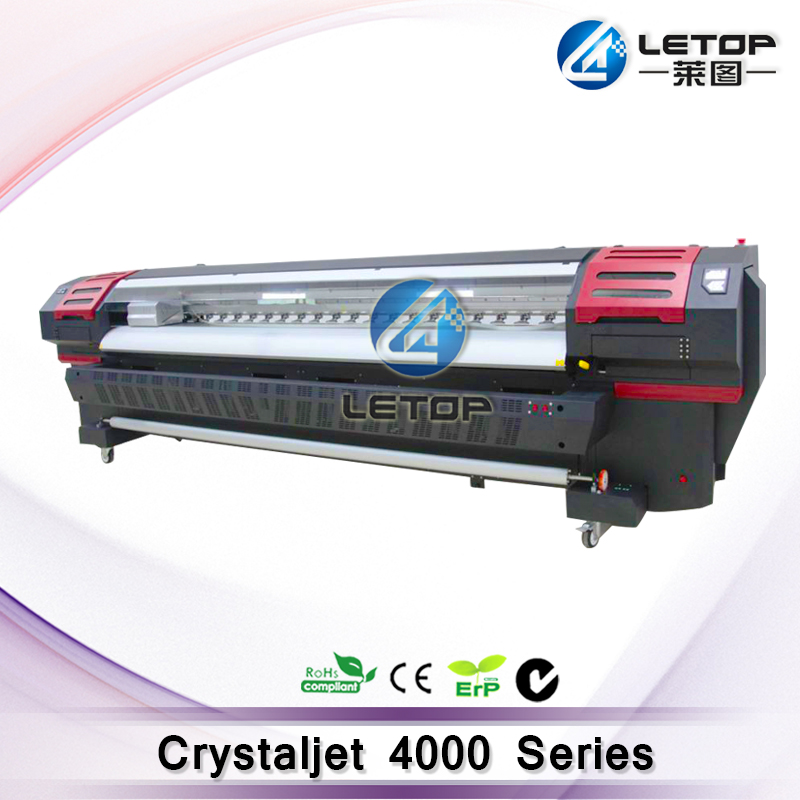 hot sales! Spt510 35pl 8pcs head solvent printer crystaljet 4000 series printer