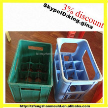 plastic injection durable vegetable crate mould supplier