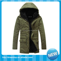 Wholesale winter mens warm thicken parka men
