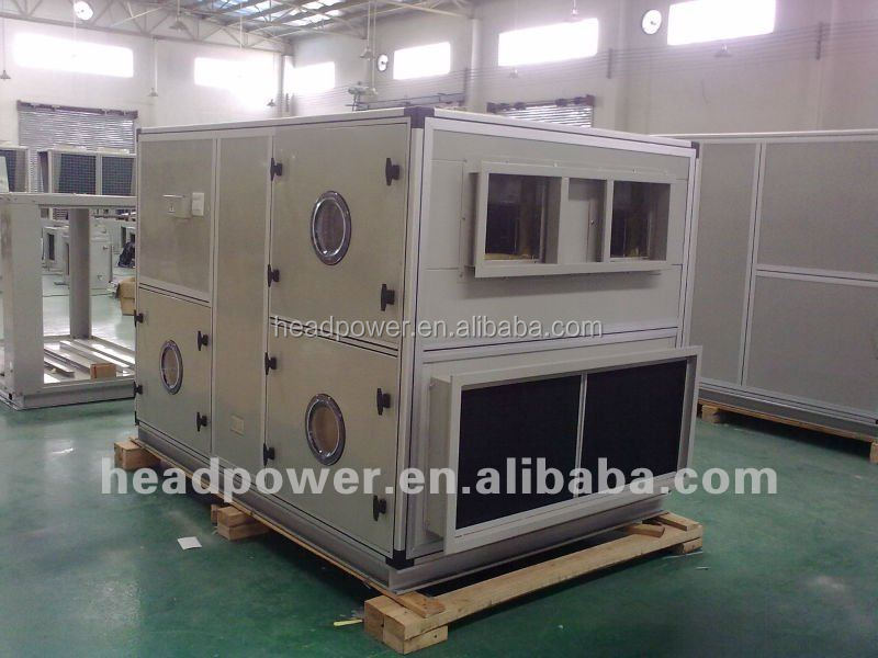 16000CFM air volume imported rotor/rotary type energy recovery air conditioning units