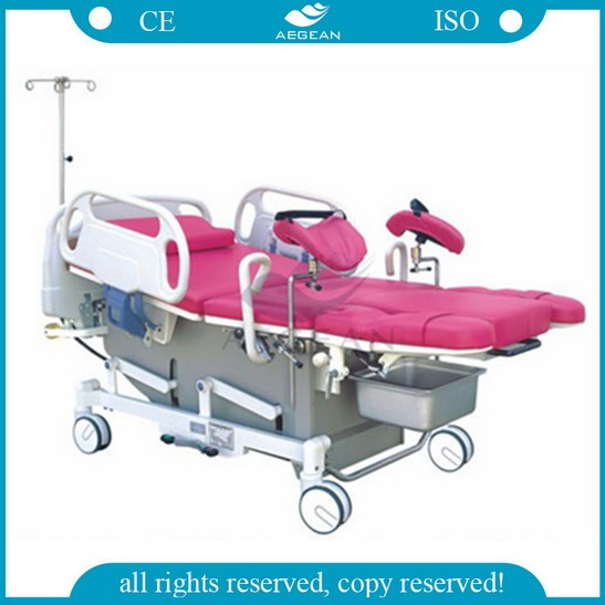 AG-C101A01 CE ISO adjustable electric hospital birthing delivery and labor bed