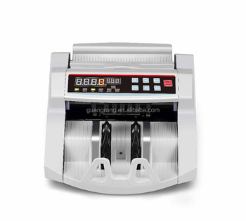 2016 new! low price!GR-2118 fake currency detector/multi cash bill counter machine