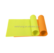 Food grade custom heat resistant rubber table food placemat rectangle table dish kitchen silicone heat mat