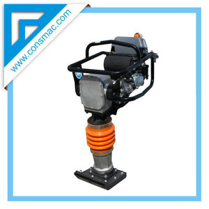 gasoline tamping rammer is used for tamping of engineering foundation
