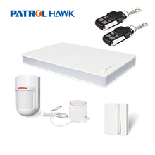 remote control wireless gsm home burglar security alarm system with infrared motion detector PH-G1