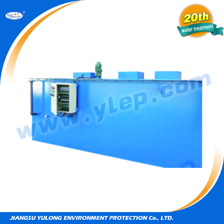 efficient water treatment machine for small sewage treatment plant