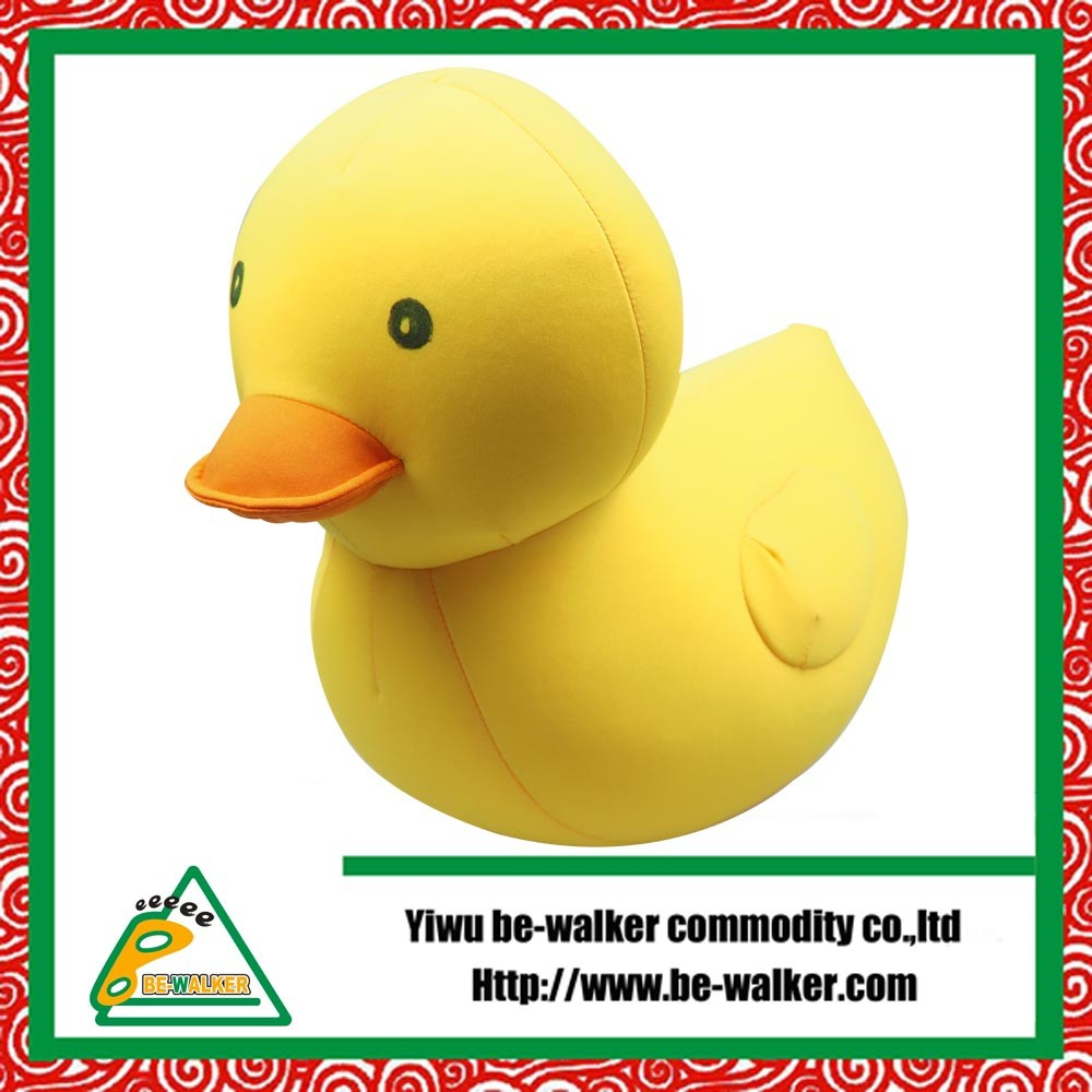 Fashion Design High Quality Yellow Duck Toy Pillow