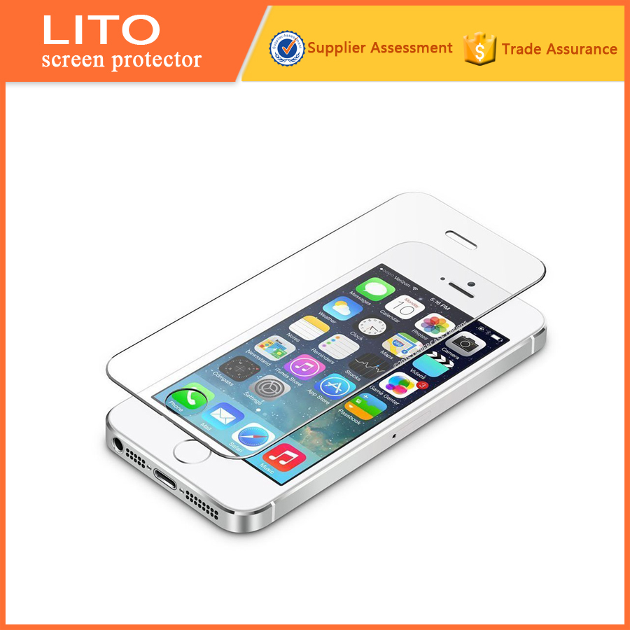 9 Hardness !!!Anti-fingerprint screen protector for iphone5