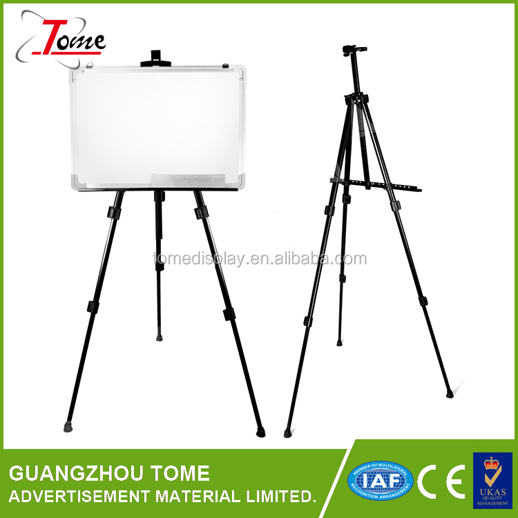 painting display easel stand aluminum advertising easel