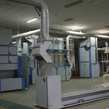 Blowroom carding machine textile machine for spinning line