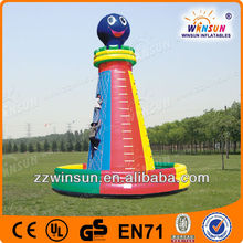 Large kids toys outdoor inflatable climbing wall