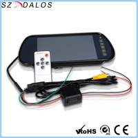 High Quality 7 Inch TFT LCD HD Car Rear View Mirror Monitor for Parking