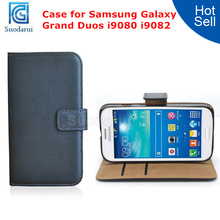 Factory Price For Samsung Galaxy Grand Duos i9080 i9082 Case Wallet Pouch Flip Cover