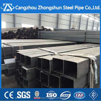 galvanized square steel pipes for car parking shed