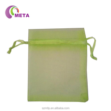 23 Colors 12 Sizes In Stock Cheap Personalized Gift Organza Drawstring Bag