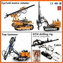 Deep 180m Max drilling diameter 180mm tractor mounted water well drilling rig